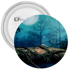 Mysterious Fantasy Nature  3  Buttons by Brittlevirginclothing