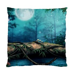 Mysterious Fantasy Nature  Standard Cushion Case (one Side) by Brittlevirginclothing