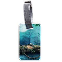 Mysterious Fantasy Nature  Luggage Tags (one Side)  by Brittlevirginclothing