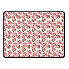 Gorgeous Pink Flower Pattern Fleece Blanket (small) by Brittlevirginclothing
