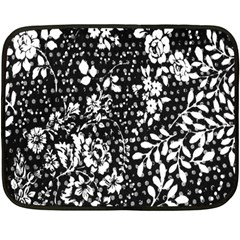 Flower Fleece Blanket (mini) by Brittlevirginclothing