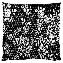 Flower Large Flano Cushion Case (two Sides) by Brittlevirginclothing