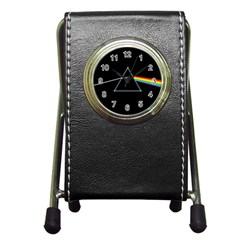 Pink Floyd  Pen Holder Desk Clocks by Brittlevirginclothing
