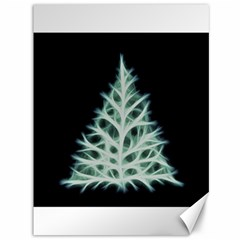 Christmas Fir, Green And Black Color Canvas 36  X 48   by picsaspassion