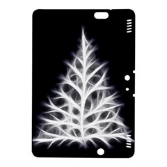 Christmas Fir, Black And White Kindle Fire Hdx 8 9  Hardshell Case by picsaspassion