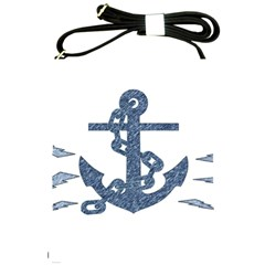 Anchor Pencil Drawing Art Shoulder Sling Bags by picsaspassion