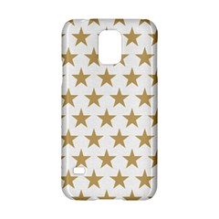Golden Stars Pattern Samsung Galaxy S5 Hardshell Case  by picsaspassion