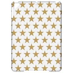 Golden Stars Pattern Apple Ipad Pro 9 7   Hardshell Case