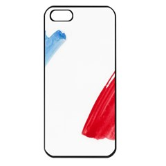 Tricolor Banner France Apple Iphone 5 Seamless Case (black) by picsaspassion