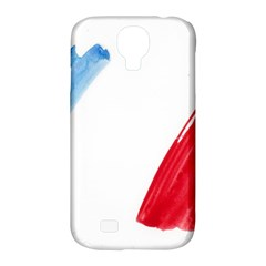 Tricolor Banner France Samsung Galaxy S4 Classic Hardshell Case (pc+silicone) by picsaspassion
