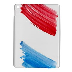 Tricolor Banner Watercolor Painting, Red Blue White Ipad Air 2 Hardshell Cases by picsaspassion