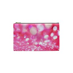 Pink Diamond Cosmetic Bag (small)  by Brittlevirginclothing