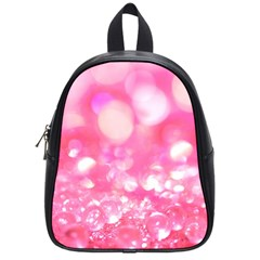 Pink Diamond School Bags (small)  by Brittlevirginclothing