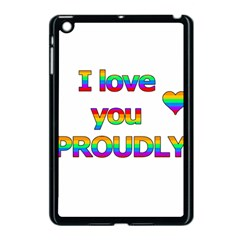 I Love You Proudly 2 Apple Ipad Mini Case (black) by Valentinaart