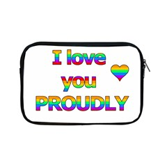 I Love You Proudly 2 Apple Ipad Mini Zipper Cases by Valentinaart