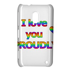 I Love You Proudly 2 Nokia Lumia 620 by Valentinaart