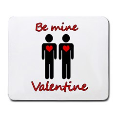 Be Mine Valentine Large Mousepads by Valentinaart