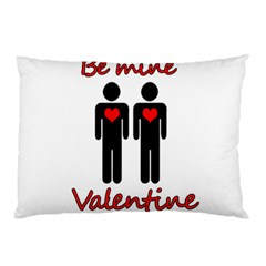 Be Mine Valentine Pillow Case (two Sides) by Valentinaart