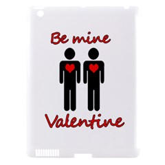 Be Mine Valentine Apple Ipad 3/4 Hardshell Case (compatible With Smart Cover) by Valentinaart