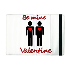 Be mine Valentine Apple iPad Mini Flip Case by Valentinaart
