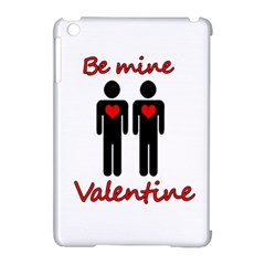 Be Mine Valentine Apple Ipad Mini Hardshell Case (compatible With Smart Cover) by Valentinaart