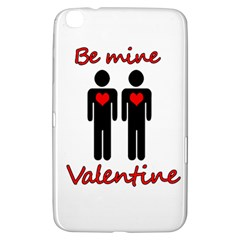 Be mine Valentine Samsung Galaxy Tab 3 (8 ) T3100 Hardshell Case  by Valentinaart