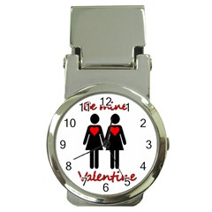 Be My Valentine 2 Money Clip Watches by Valentinaart