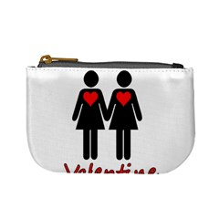Be My Valentine 2 Mini Coin Purses by Valentinaart