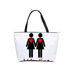 Be My Valentine 2 Shoulder Handbags by Valentinaart