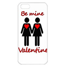 Be My Valentine 2 Apple Iphone 5 Seamless Case (white) by Valentinaart