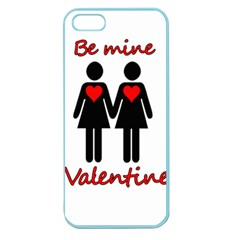 Be My Valentine 2 Apple Seamless Iphone 5 Case (color) by Valentinaart