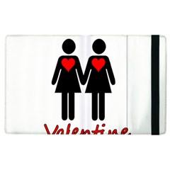 Be My Valentine 2 Apple Ipad 2 Flip Case by Valentinaart