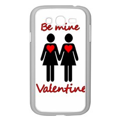 Be My Valentine 2 Samsung Galaxy Grand Duos I9082 Case (white) by Valentinaart