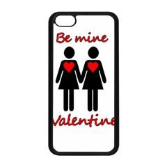 Be My Valentine 2 Apple Iphone 5c Seamless Case (black) by Valentinaart