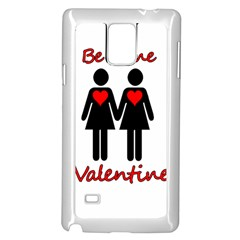Be My Valentine 2 Samsung Galaxy Note 4 Case (white) by Valentinaart