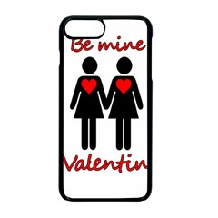 Be my Valentine 2 Apple iPhone 7 Plus Seamless Case (Black) by Valentinaart