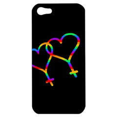 Love Is Love Apple Iphone 5 Hardshell Case by Valentinaart