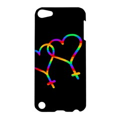 Love Is Love Apple Ipod Touch 5 Hardshell Case by Valentinaart