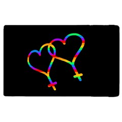 Love Is Love Apple Ipad 3/4 Flip Case by Valentinaart
