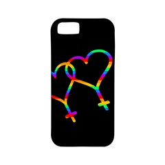 Love Is Love Apple Iphone 5 Classic Hardshell Case (pc+silicone) by Valentinaart