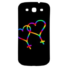 Love Is Love Samsung Galaxy S3 S Iii Classic Hardshell Back Case by Valentinaart