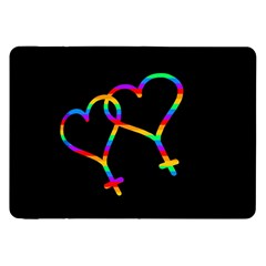 Love Is Love Samsung Galaxy Tab 8 9  P7300 Flip Case by Valentinaart