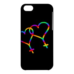 Love Is Love Apple Iphone 5c Hardshell Case by Valentinaart