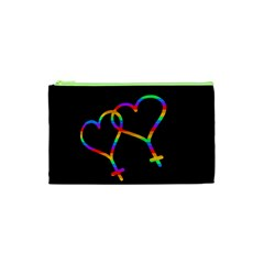 Love Is Love Cosmetic Bag (xs) by Valentinaart