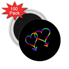 Love Is Love 2 25  Magnets (100 Pack)  by Valentinaart