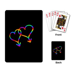 Love Is Love Playing Card by Valentinaart