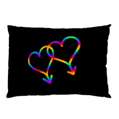 Love Is Love Pillow Case by Valentinaart