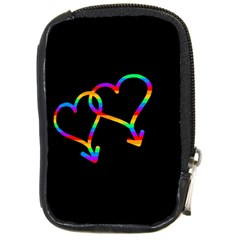 Love Is Love Compact Camera Cases by Valentinaart