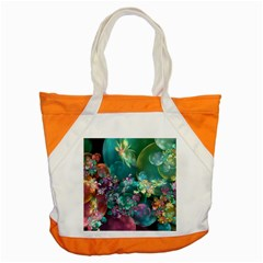Butterflies, Bubbles, And Flowers Accent Tote Bag by WolfepawFractals