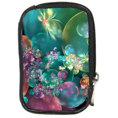 Butterflies, Bubbles, And Flowers Compact Camera Cases by WolfepawFractals